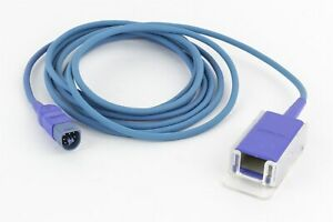Philips M1943nl Nellcor Oximax Spo2 10 Extension Adapter Cable Db9 To D Connect