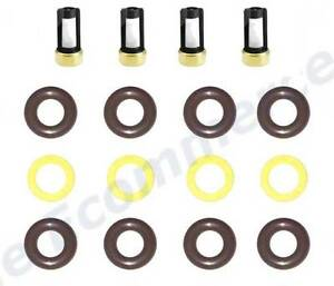 Fuel Injector Service Repair Kit O Rings Filters Seals Nylon Spacers For Saab