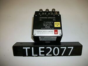General Radio 1409 t Standard Capacitor tle2077