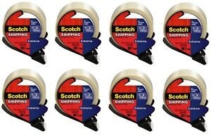 8 3m Scotch 8959 rd 1 88 X 21 8 Yd Extreme Strapping Shipping Tape W Dispenser