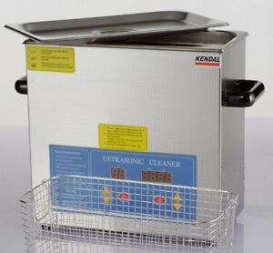 Commercial Grade 220 Watts 3 Liters Heated Ultrasonic Cleaner