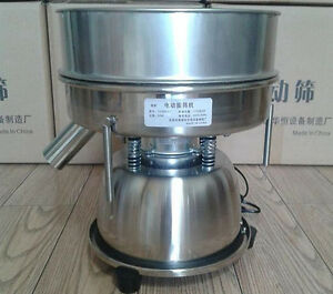 Ce Stainless Steel Electric Chinese Medicine Sieve Vibrating Sieve Machine