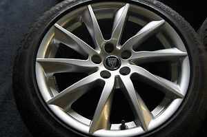4 Genuine Jaguar F Type F type Wheels Tires Rims Oem Rare 18 Inch Factory