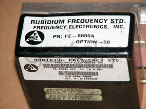 Fe 5650a Output 10mhz Rubidium Atomic Frequency Standard