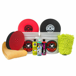 Chemical Guys Hol129 Best Two Bucket Wash And Dry Kit 11 Items