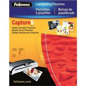 Laminating Pouches Ltr 100pk By Fellowes fellowes Laminating Pouches Preser