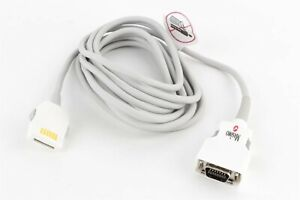 Masimo Set 1005 Pc08 Spo2 8 Extension Adapter Cable Lnc 14 Pin To Lnop F tab