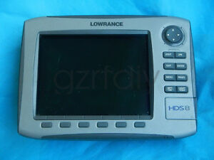 Lowrance HDS-8 Gen1 HDS8  GPS Fishfinder (HDS-8 head only no any parts)