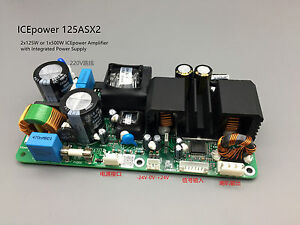Icepower Power Amplifier Board Ice125asx2 Dual Channel Digital Audio Amp Module