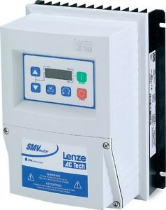 New Lenze Esv371n02sfc Smvector Variable Frequency Drive 0 37 Kw 240v 1 Phase