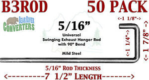 B3rodx50 Exhaust Southern Hanger 5 16 Rod 90 J Hook Style 7 1 2 7 5