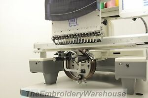 Commercial Embroidery Machine Single Head Butterfly B1501 t Cap Cruncher Package