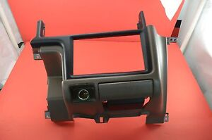 90 95 Toyota 4runner Pickup Truck Center Dash Radio Panel Trim Brown 55413 35010