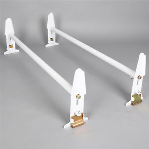 Adjustable Van Roof Ladder Rack 500lbs 2 Bars Chevy Dodge Ford Gmc Express 77
