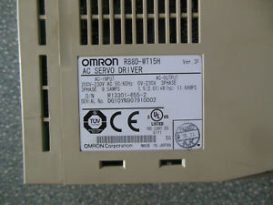 Omron Servo Drive R88d wt15h Used Free Expedited Shipping R88dwt15h