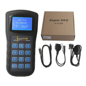 Super Vag K Can Diagnostic Code Reader For Vw audi seat Obd Odometer Correction