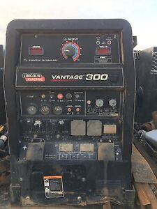 Lincoln Vantage 300 With Kubota Engine Fair Condition Welds Great