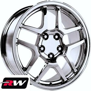 Corvette Wheels 2001 C5 Z06 Chrome Rims 17 18 Inch Fit Corvette C5 1997 2004