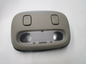 2005 2011 Town Car Overhead Console Map Lights With Bracket Gray Stone