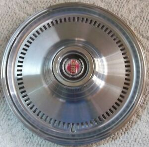 1974 1975 1976 Ford Torino 15 Inch Wheel Cover Hub Cap Original Stainless Steel