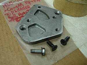 Nos 1965 73 Ford Mustang Hurst 4sp 3sp Shifter Mount Bracket Bolts Toploader
