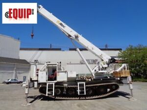 2007 Altec 26 Ton Hydraulic Rough Terrain Crane Boom Lift 149 Ft Height