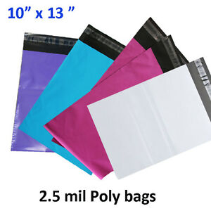 10x13 Poly Mailer Shipping Envelope Couture Boutique 2 5 Mil Mailing Plastic Bag
