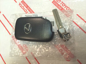 new Oem Lexus Remote Smart Key Fob Transmitter Blade Ct200h Hs250h Gs450h