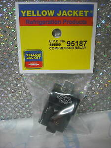 Yellow Jacket Recovery Unit Model 95760 Start Relay