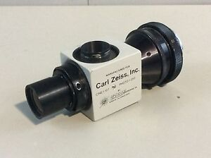 Carl Zeiss Urban Photo F 250 cine F 107 Adapter Medical Lab Microscope Parts