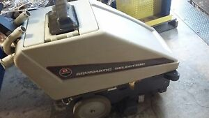 Advance Aquamatic Selectric Self propelled Carpet Cleaning Machine Model 263501