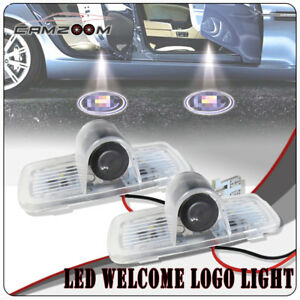 2pcs Led Shadow Logo Projector Laser Car Door Courtesy Welcome Light For Honda