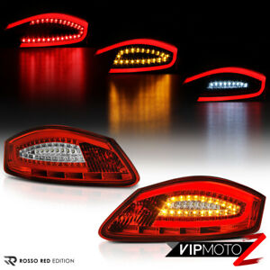 For 05 08 Porsche 987 Boxster Cayman Factory Red Led Tube Tail Light Assembly