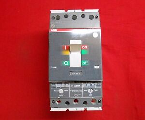 Abb T4n pv200tw Circuit Breaker 250amp Frame 200amp Trip panel Pull out