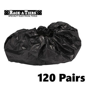 Rack a tiers 120 Commercial Industrial Heavy Duty Boot Covers Booties 47099b