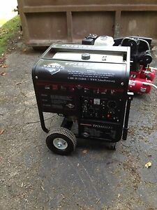 Used Tahoe Tpi 8000 Lxu Commercial Gas Generator Compatable With Porta Welder