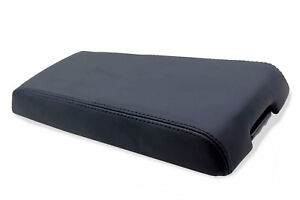 Center Console Armrest Real Leather Cover For Dodge Nitro 07 11 Black