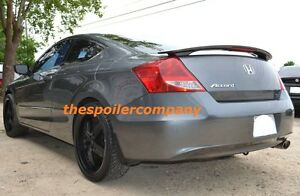 New Painted Any Color Rear Spoiler W Light Fits 2008 2012 Honda Accord 2dr Coupe