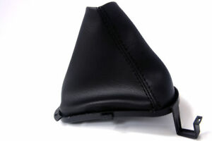 Automatic Shift Boot Cover Synthetic Leather For Dodge Stratus 1998 2006 Black
