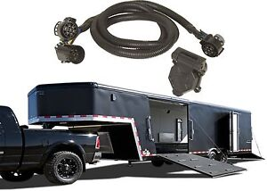 Hopkins 41157 5th Wheel Gooseneck Trailer Wiring Kit Harness New Free Shipping