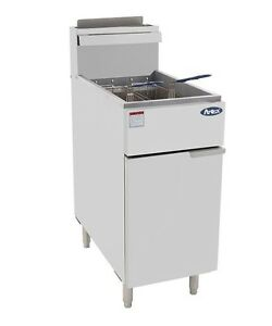 New Atosa 50 Lb Pound Heavy Duty Commercial Deep Fryer