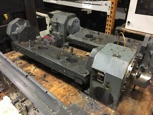 Peiseler Awup 160 Nc Rotary Table W Tailstock Fanuc Motor Mfg d 2005 2 Used
