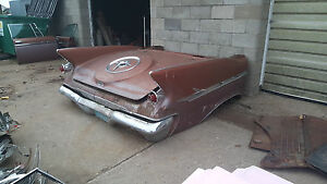 1961 Imperial Car Couch Trunk Custom Man Cave Art Hot Rod Cadillac 60 59 62 63