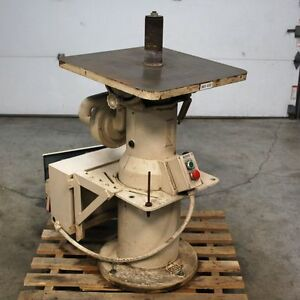 Max Vsi 18 Vertical Oscillating Spindle Sander Table 24 x24 7 To 8 Rise