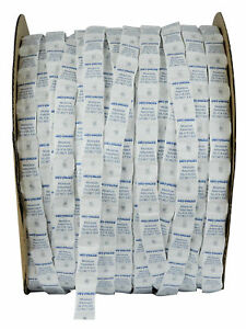 1 Gram Continuous Strip Pillow Packets Silica Gel Tyvek Roll Of 3000