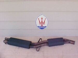 Maserati Indy Exhaust System Muffler Center Section Used Oem