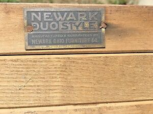 Antique Newark Furnature Company Dinning Room Table Salvage Part