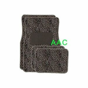 A Set Of 4 Universal Fit Animal Print Caet Floor Mats For Cars Truck Cheetah