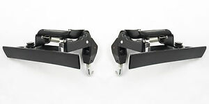 1983 1993 Ford Mustang Convertible Top Latch Lock Handle With Hooks Pair