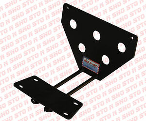 2013 2014 Ford Taurus Sto n sho Removable Take Off Front License Plate Bracket
